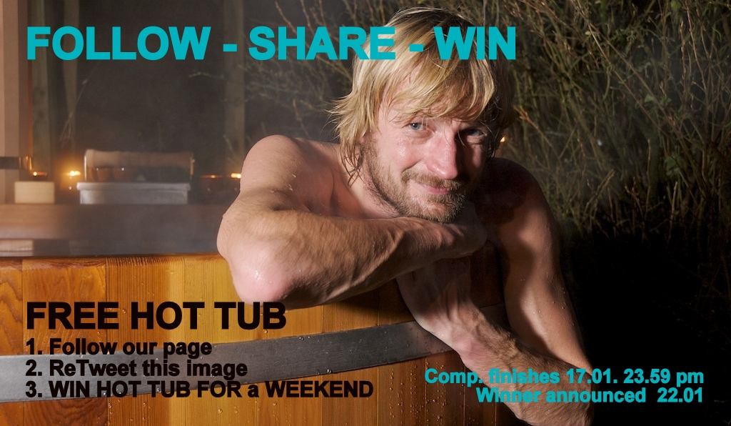 win a hot tub for a weekend