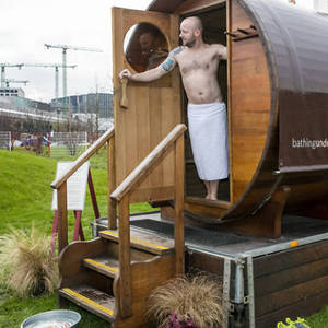 Sauna at King's Cross Pond Club, Time Out