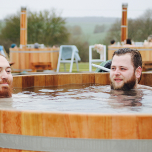 Bourn pop up | Outdoor spa | Bathing under the Sky