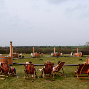 Outdoor pop up spa 2, March 2017