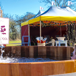 Outdoor pop up spa 3, March 2017