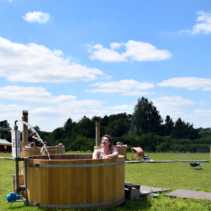 Outdoor pop up spa 6, July 2017