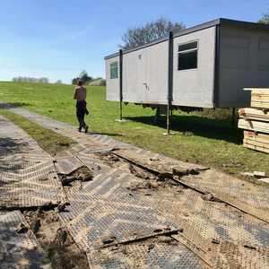 Cambridgeshire, Building our first outdoor venue, March-July 2018