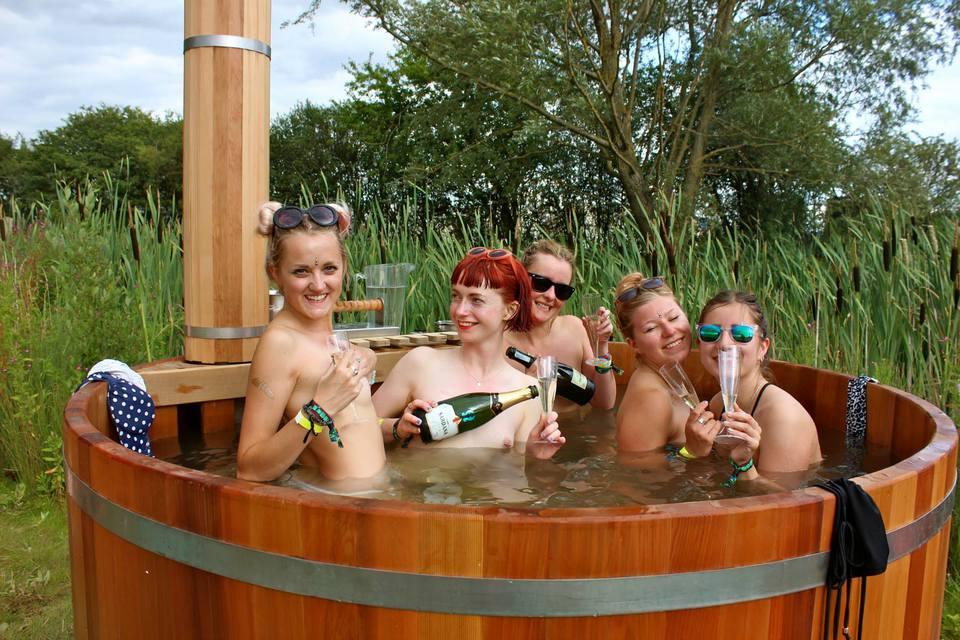Secret Garden Party 2015   Bathing under the Sky
